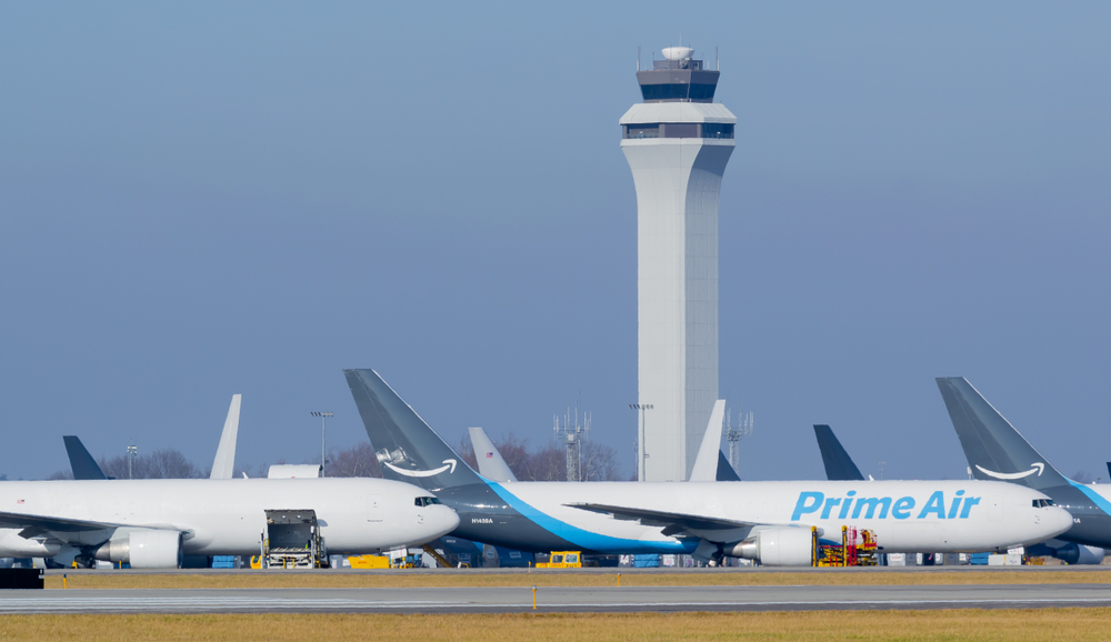airplanes at airport showcasing air freight delivery services